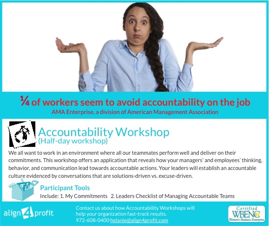 accountability workshop